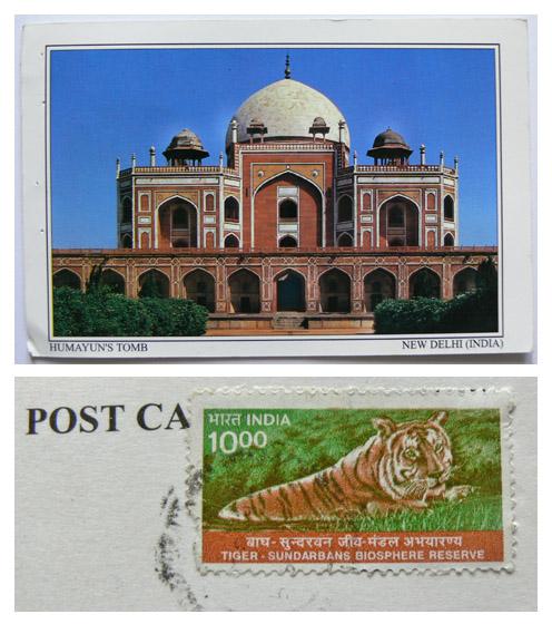 Erwinindiapostcard